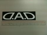 日本 DAD 原裝貼紙