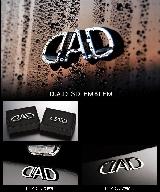 日本 DAD 電鍍3D徽章