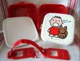 (絕版) 大口仔 兩層式 餐盒 1988年出產