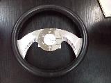 (F141) 黑色皮軑盤