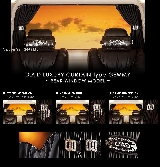 日本Garson DAD 豪華窗簾type GEMMY~REAR WINDOW MODEL~