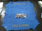 (F177) RV-INIVO 藍色網連扣 - Carmate 車頂用